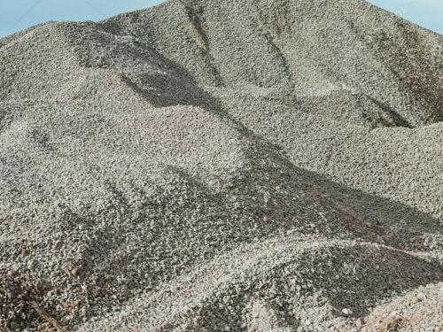 gravel-pile